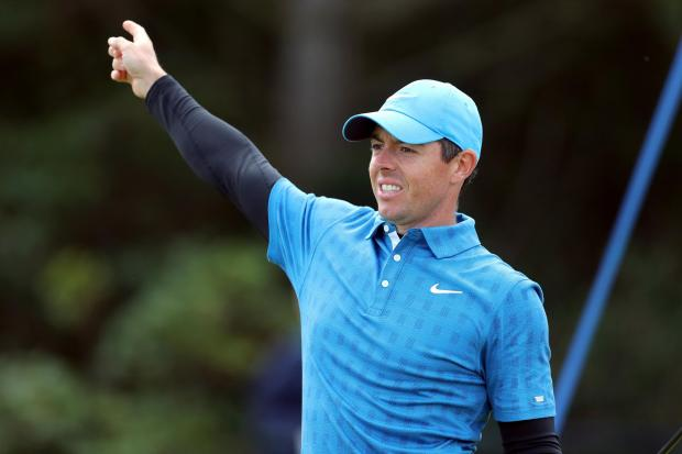 Rory McIlroy was battling back from a nightmare start to the 148th Open