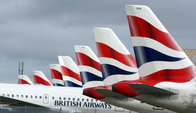 British Airways passengers to be tested for Covid-19 in major new trial (Archive photo)