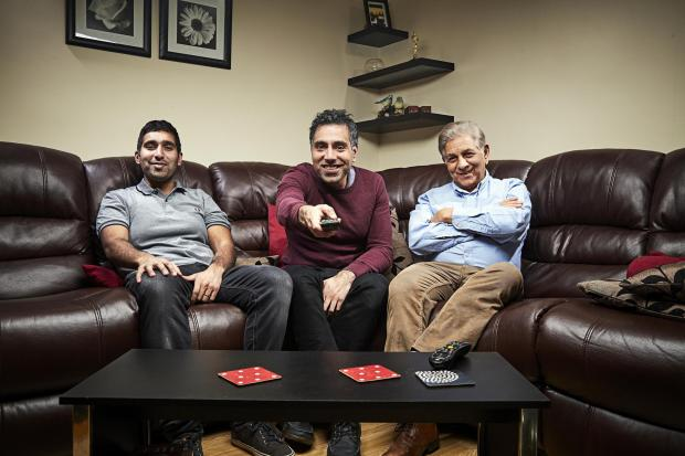 Redhill And Reigate Life: The Siddiqui family. Picture: Channel 4