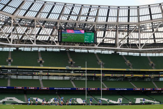 Ireland are preparing to host Georgia at the Aviva Stadium in Dublin