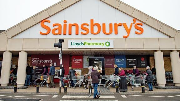 Sainsbury's issues urgent product recall over Hepatitis A fears. (PA)