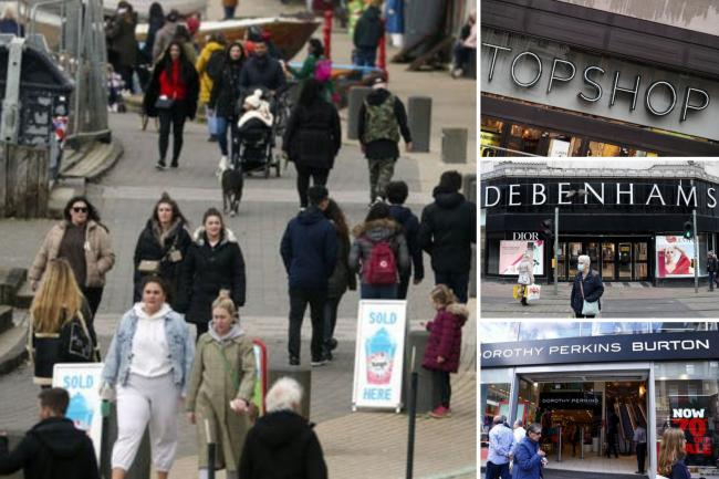 High street stores that won't be reopening on April 12. (PA/Canva)