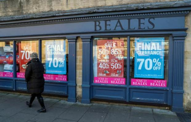 Redhill And Reigate Life: Beales opened its doors for the final time in March 2020. (PA)