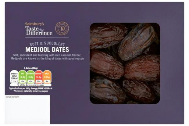 Redhill And Reigate Life: Taste the Difference Medjool Dates. (Sainsbury's)