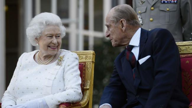 The Queen's remarkable show of strength days after Prince Philip's death. (PA)