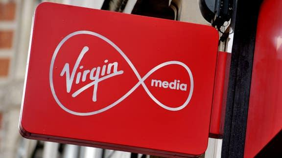 Virgin Media down: users report broadband issues across the UK. (PA)