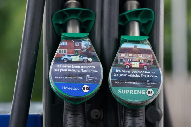 Redhill And Reigate Life: An E10 petrol pump (Joe Giddens/PA)