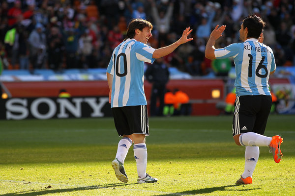Redhill And Reigate Life: Argentina South Korea World Cup 2010