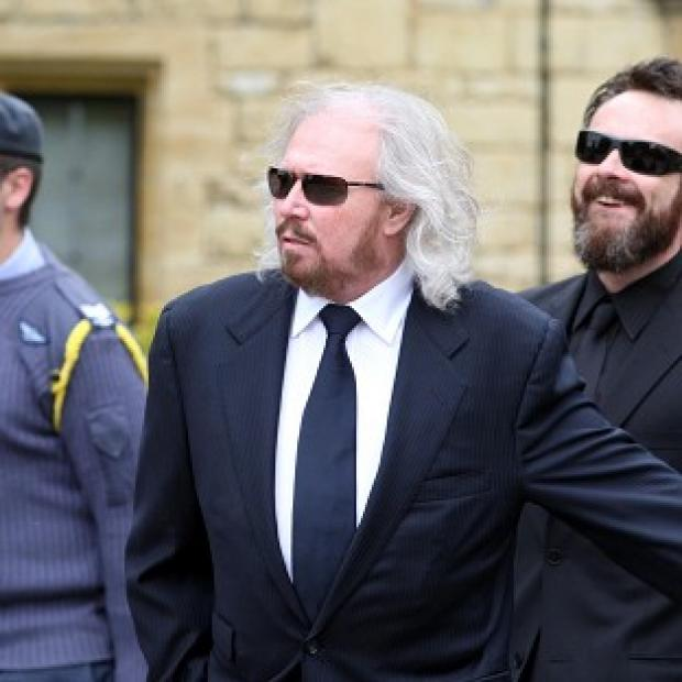 Barry Gibb paid tribute to his brother Robin at his funeral