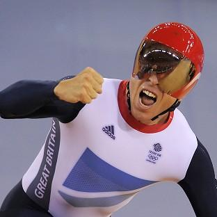 Sir Chris Hoy won a record sixth Olympic gold