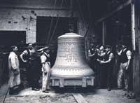 Berlin's Freedom Bell, made by Gillett and Johnston Pic: Croydon Local Studies Library and Archive Service