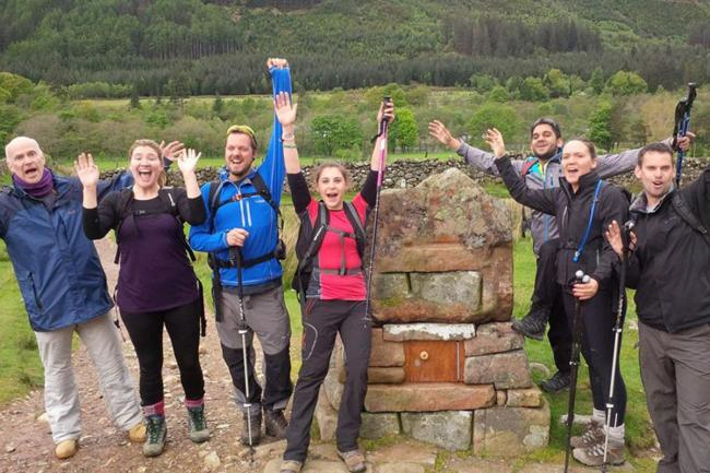 Conquer the Surrey Three Peaks this May