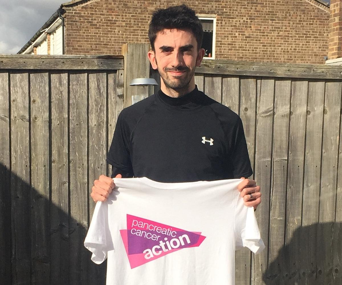 Stefan Cordery-Planck prepares for 10k run