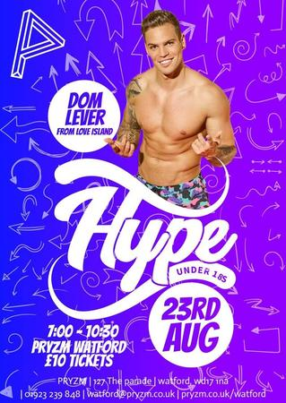 HYPE: Under 18s | Featuring Dom Lever from Love Island