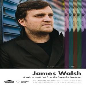 James Walsh (Starsailor) Solo Acoustic @ The Half Moon Putney
