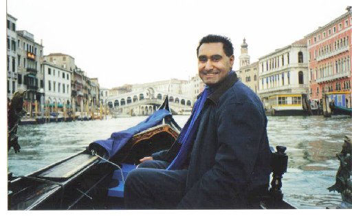 Rupinderpal Dhillon travelled to Venice