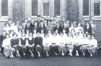 Channon's children in 1953: Rev W G Channon (back, centre) with a young Michael Shergold (middle row, centre, directly in front of Rev Channon) and Jean Shergold (front row, sixth from left). Were you one of Channon's children?