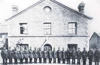 Line of duty: Redhill police, 1879; Head Constable George Rogers is on the left