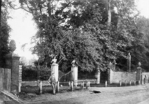 The Bell Street Entrance created by John Parsons was later removed by Lady Henry Somerset because of its proximity to the Castle Public House