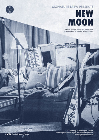 New Moon - A Night of New Music at The Half Moon Putney