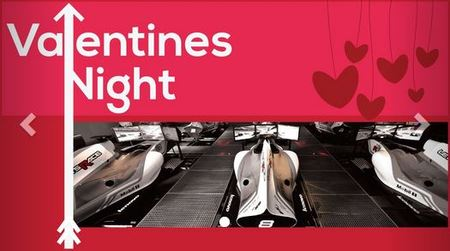 Get hearts racing this Valentine's Day at Lets Race