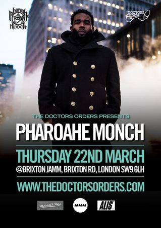 Pharoahe Monch - Exclusive Intimate Show - Just £17.50 at Brixton Jamm, LDN