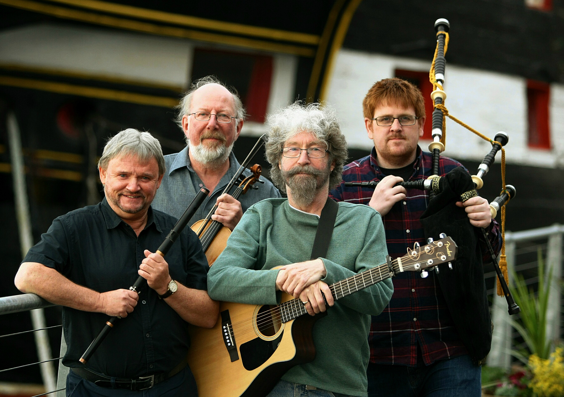 The Tannahill Weavers in concert at the Ram Club