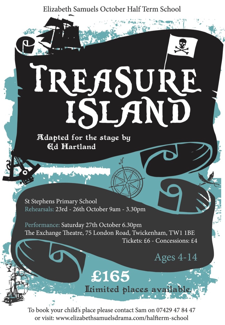 Treasure Island October Half Term Production