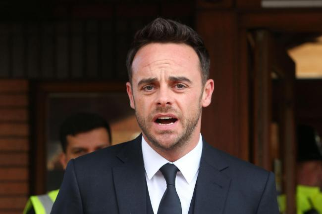 TV presenter Anthony McPartlin