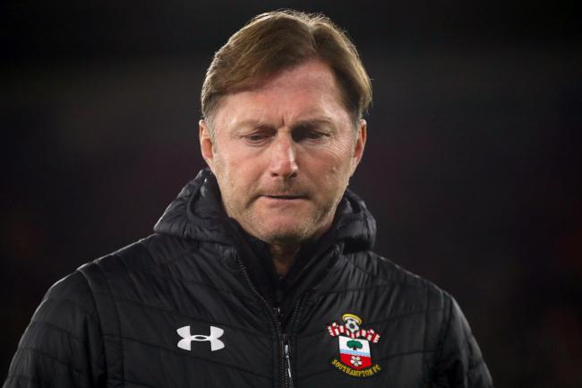 Southampton manager Ralph Hasenhuttl saw his side again throw away a 2-0 lead