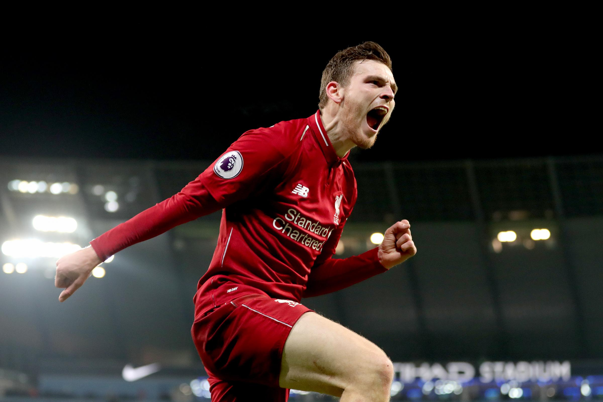 Liverpool's Andrew Robertson has signed a new five-year contract.