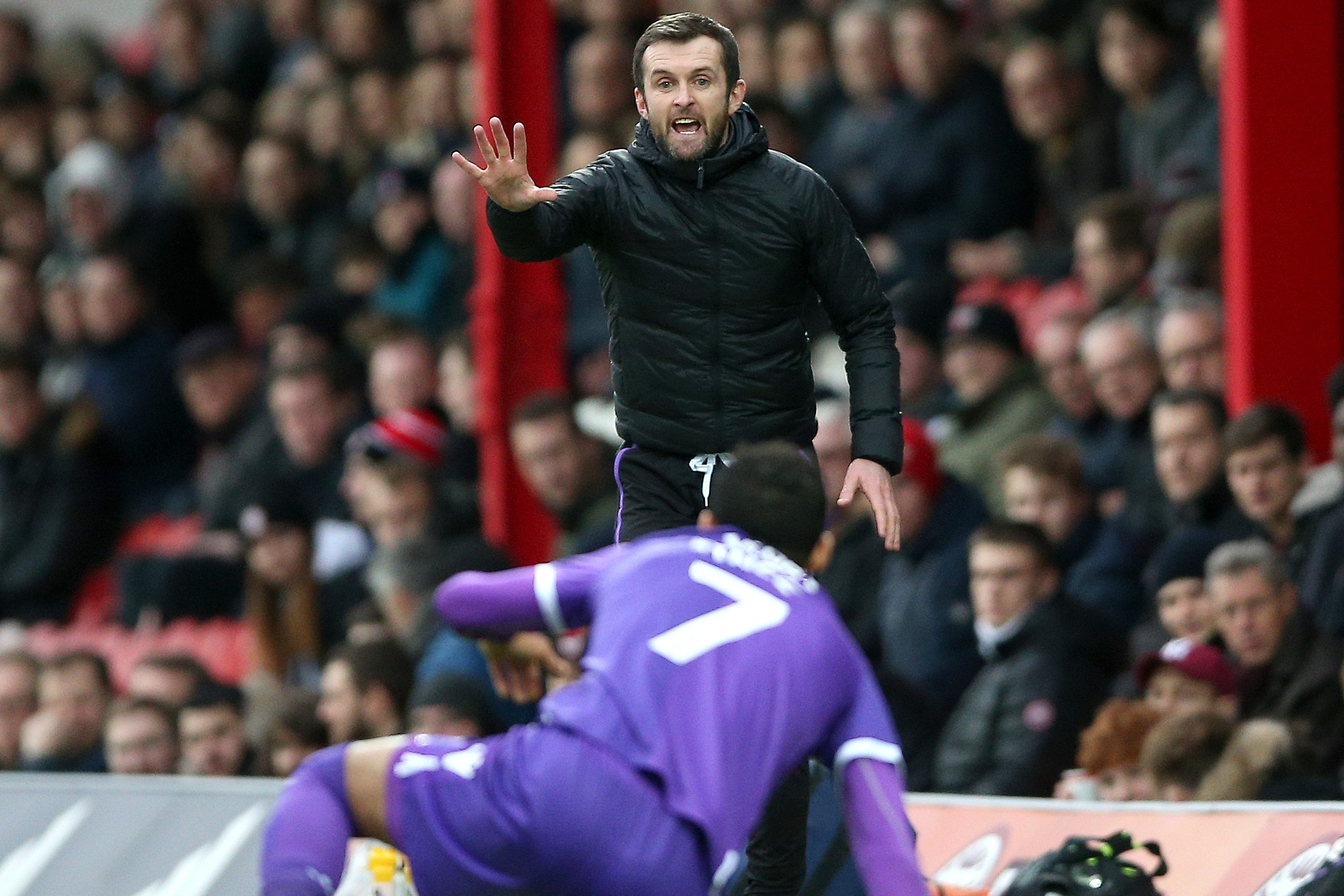 Stoke manager Nathan Jones faces Marcelo Bielsa's Leeds on Saturday