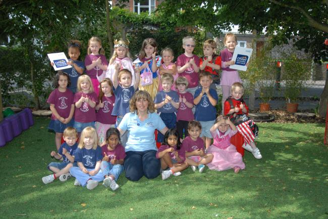 Bobtails Playgroup celebrate a year of success